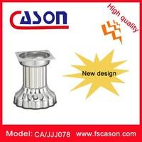 Modern zinc alloy decorative metal furniture legs