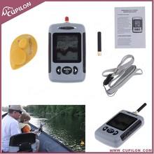 Lucky Wireless Portable Sonar Fish Finder with Dot Matrix 40m Range