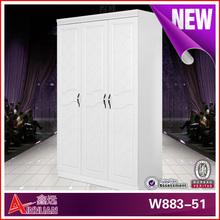 W883A-51fashion girls bedroom wardrobe