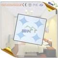 595 * 595 mm fibra de vidro de gesso acrílico telha do teto