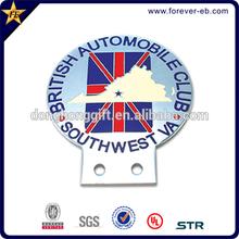 High class custom chrome car emblems