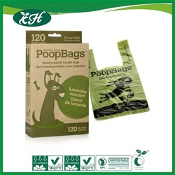 wholesale biodegradable recycle dog waste bags