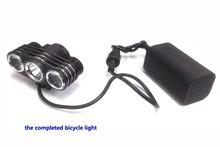 electric bicycle light SJ-B15 8.4v 2100LM mountain bike light wholesale alibaba