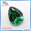 facetas pedras preciosas atacado personalizável pêra esmeralda pedra de preços