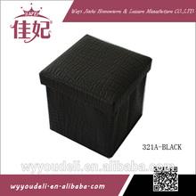 christmas gift waterproof storage stool with lid