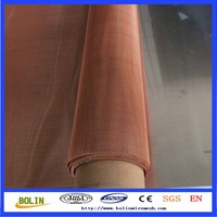 Copper metal screen copper fabric for radiator(Factory)