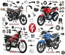 Bajaj Spare Parts Bajaj Pulsar Accessories Discover125 BOXER100 Platina 100 Motorcycle Parts China Supplier For Bajaj