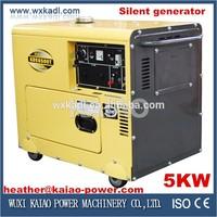 5kw generator, portable type Hot sale !