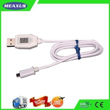 5 pin USB Cable, Lines with LED Light Indicator for Android Smart Phones Power Banks