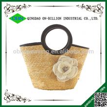 Factory Direct china wholesale straw beach handbag