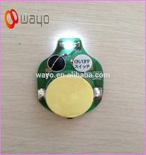 Single White color battery powered blinking led lights