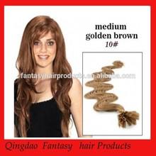 alibaba pre gebonden hair extensions goedkope wavy brazilian vigin hair pre bonde