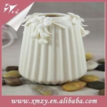 White antique chinese porcelain vase