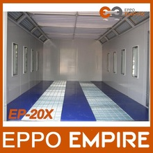 New product high quality Made in china industrial paint booth/car painting room price/auto body spray booth