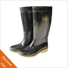 rubber sole pvc mining safety boots
