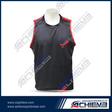 Personalized color black jersey basketball design