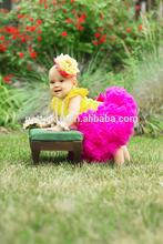 Roupa por atacado do bebê ballet tutu vestidos para meninas