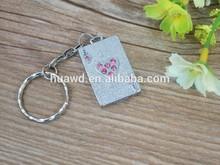 Promotion Gift Mini Twist USB, Engraved logo metal key memory pens 1gb 2gb 4gb with keyring