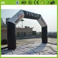 Baratos inflables acabado de la línea del arco de la publicidad los arcos/arco para la venta