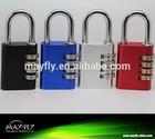 High quality aluminum combination lock,combination padlock,digital lock,L344