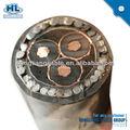 كابلات الكهرباء، 25mm2/ 3c/ xlpe/ pvc/ swa/ 15kv 15kv معلب النحاس