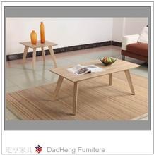 2014 modern design rubberwood dining table
