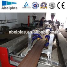 WPC profile extruder machine/PVC and wood door frame machine/PVC window and door profile extrusion machine