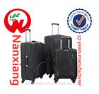 Nylon 1680D,durable,,carry-on types,3pcs/set,soft nylon travel luggage trolley