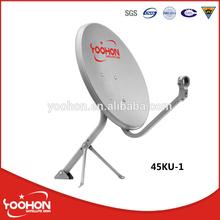Offset Satellite Dish Ku Band Dish 45cm