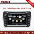 Dvd hot+car para mercedes benz w163 w203 w210 w463 radio de coche para el benz w209