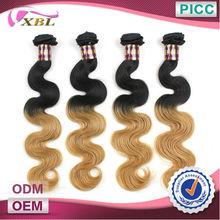 Two Tone Hair Extension Original Brazilian Humain Hair