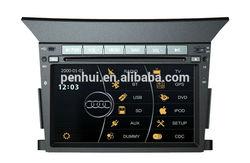 Car DVD Player With TV/AM/FM/Bluetooth/USB/SD CARD/GPS for HONDA PILOT