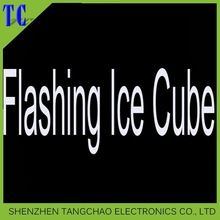 Hot selling led ice cubes, artificial ice cubes for party decoration