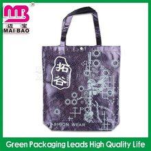 100% guaranteed quality fashional eco recycling nylon foldable shopping bags