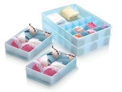 Decorative underwear storage box plastic storage box