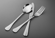 Good price and high quality Senior restaurant knife , fork and spoon
