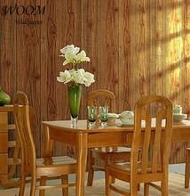 Artificial wood grain PVC 3d natural effect wallpaper