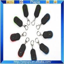 whistle activated promotional smart light beep sensor mini led keychain key finder