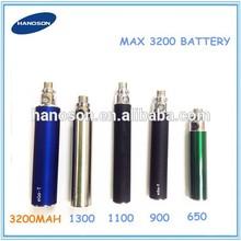 ego 3200mah/ego t 3200mah battery usb passthrough led/led ego twist 3.3v-4.8v variable voltage