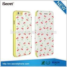 2014 Newest Classical Design folio soft pu leather phone case for iphone 6
