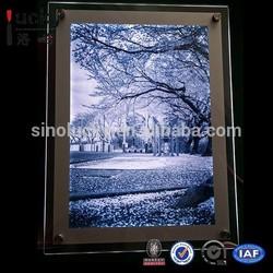 2015 new style super slim Led light up picture frame
