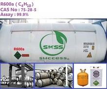 99.9% China isobutane Refrigerant R600a