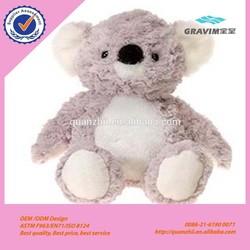 Cute plush koala toy with CE/ASTM