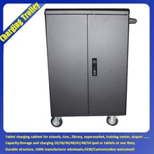 Mini Metal Locker Mini Steel Locker / Furniture Moving Trolleys / Cart With Removable Wheels