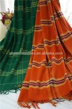 high quality wool blanket,soft hand feeling, beautiful plaid stripes design