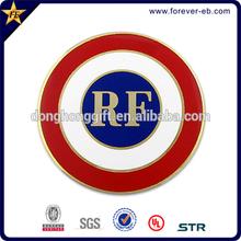 High class soft cloisonne sport car badge