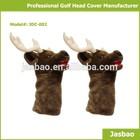 Cute Knitted Golf Club Head Cover