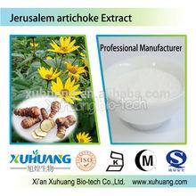 Halal,Kosher,ISO Certified factory Jerusalem artichoke extract powder Inulin