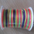 Rattail Satin Cord 2 mm multicolor / cetim de ratos Cord cauda