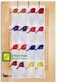 16 pocket über der tür hängen schuh veranstalter